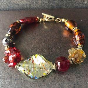 Italian Glass 💝2/$20 Beaded Bracelet
